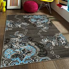 Area Rugs Blue Allstar Rugs Blue Gray Area Rug Reviews Wayfair