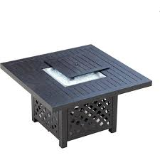 Patio Club Chairs Avondale 5 Piece Aluminum Patio Fire Pit Seating Set With Rocking