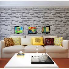 10m 3d brick stone natural color slate environmental non woven