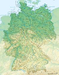 East West Germany Map by Aaapoe Campus 001 Geography Hall 地理館 地理馆 001 005