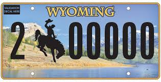 Wyoming Travel Math images Squaretop mountain to grace new license plate wyoming public media jpg