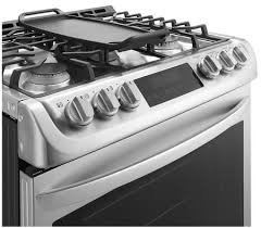 Slide In Gas Cooktop Lg Lsg4513st 30 Inch Slide In Gas Range With Sealed Burner Cooktop