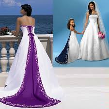 brides wedding gowns with train purple wedding dresses dressesss