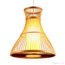 Cafe Pendant Lights Pastoral Bamboo Dining Room Pendant Ls Creative Study Room