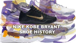 nike bryant shoe history