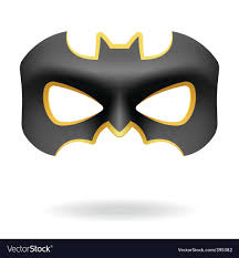 batman masquerade mask masquerade mask royalty free vector image vectorstock