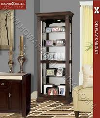 Glass Shelves Cabinet Traditional Cherry Curio Display Cabinet 4 Glass Shelf 680420 Ricard