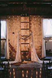 wedding backdrop rustic rustic indoor industrial wedding backdrop deer pearl flowers