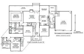 4 bedroom house plans 1 story 4 bedroom house plans 1 story