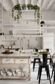 Interior Designs Of Kitchen by Best 25 Loft Kitchen Ideas On Pinterest Bohemian Restaurant Nyc