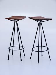 furniture astonishing wooden and metal bar stools for mini bar