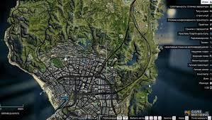 Gta World Map Satellite Map Of 4 K For Gta 5
