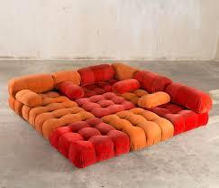Sofas And Sectionals by Best 20 Orange Sofa Ideas On Pinterest Orange Sofa Design