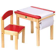 Office Table Chair by Guidecraft Art Equipment 2 Piece Toddler Art Table U0026 Chair Set