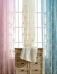 compare prices on white embroidered curtains online shopping buy