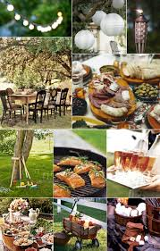 rustic food and setting food and table setting pinterest