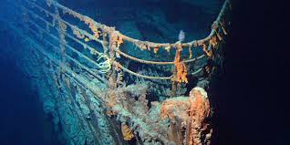 bbc earth the wreck of the titanic is being eaten and may soon
