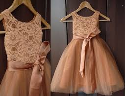 country wedding flower dresses lace dress baptism dress rustic flower dress