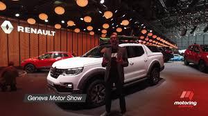 renault geneva 2017 geneva motor show renault alaskan youtube
