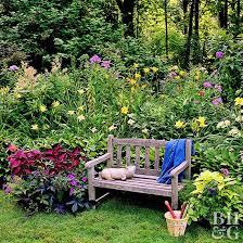 garden plan for partial shade