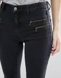 look womens boots size 9 look sale look zip jean black