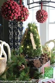 Rustic Christmas Centerpieces - whimsical christmas home tour