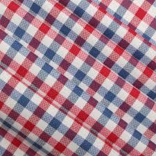 Blue Union Jack Cushion Union Jack Tartan Gingham Check Tablecloth Curtain Cushion