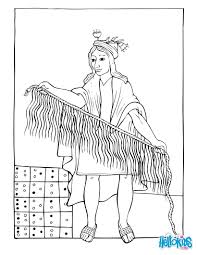 the pre columbian weaving coloring pages hellokids com