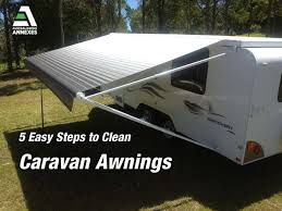How To Clean Rv Awning 5 Easy Steps To Clean Caravan Awnings