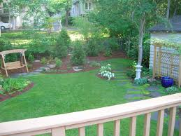 Large Backyard Landscaping Ideas by Triyae Com U003d Large Empty Backyard Various Design Inspiration For