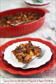 easy stuffing recipes for thanksgiving spicy chorizo butternut squash u0026 apple stuffing