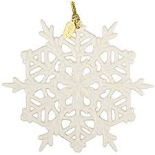 lenox 2016 snow fantasies snowflake ornament home
