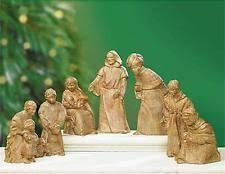 set of figurines nativity items ebay