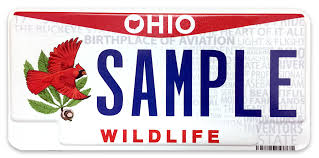 ohio bureau of motor vehicles cardinal license plate now available for purchase from