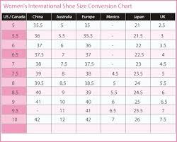 shoe size chart india vs uk women s international shoe size conversion chart u s canada