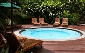 Backyard Space Ideas 34 Soothing Hot Tub Ideas