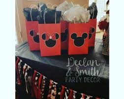 mickey mouse party favors minnie mouse party etsy