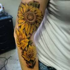 sunflower arm tattoo tattoo collections