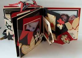 handmade photo album mini album gift