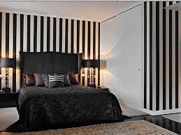 Home Decorating Ideas Black And White Pretty Black Bed Idea Beside Astonishing Black Shade Lamp Design