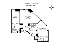 150 west 56th street 5002 midtown center 2 bedroom condo for
