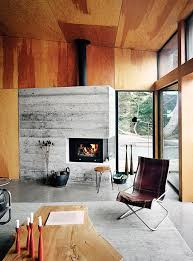 modern cabin interior the makings of modern cabin plywood walls fire places and plywood