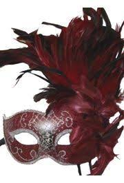 feather masks masks venetian mask with feathers