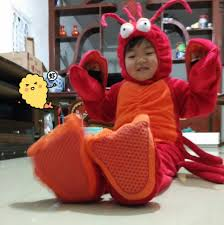 Lobster Costume Cute Baby Lobster Costume My First Costume