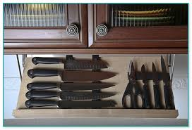 Under Cabinet Knife Holder by Under Cabinet Knife Storage
