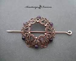 hair pin hairpin with amethysts by nastya iv83 on deviantart