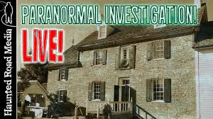 live paranormal investigation at the haunted ferry plantation