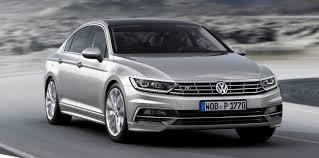 2015 volkswagen passat debuts fresh european model only redesign