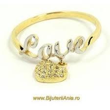 inele aur bijuteria teilor inel aur si diamante style