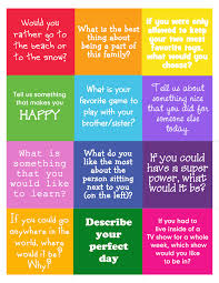 conversation starters great for language development at the
